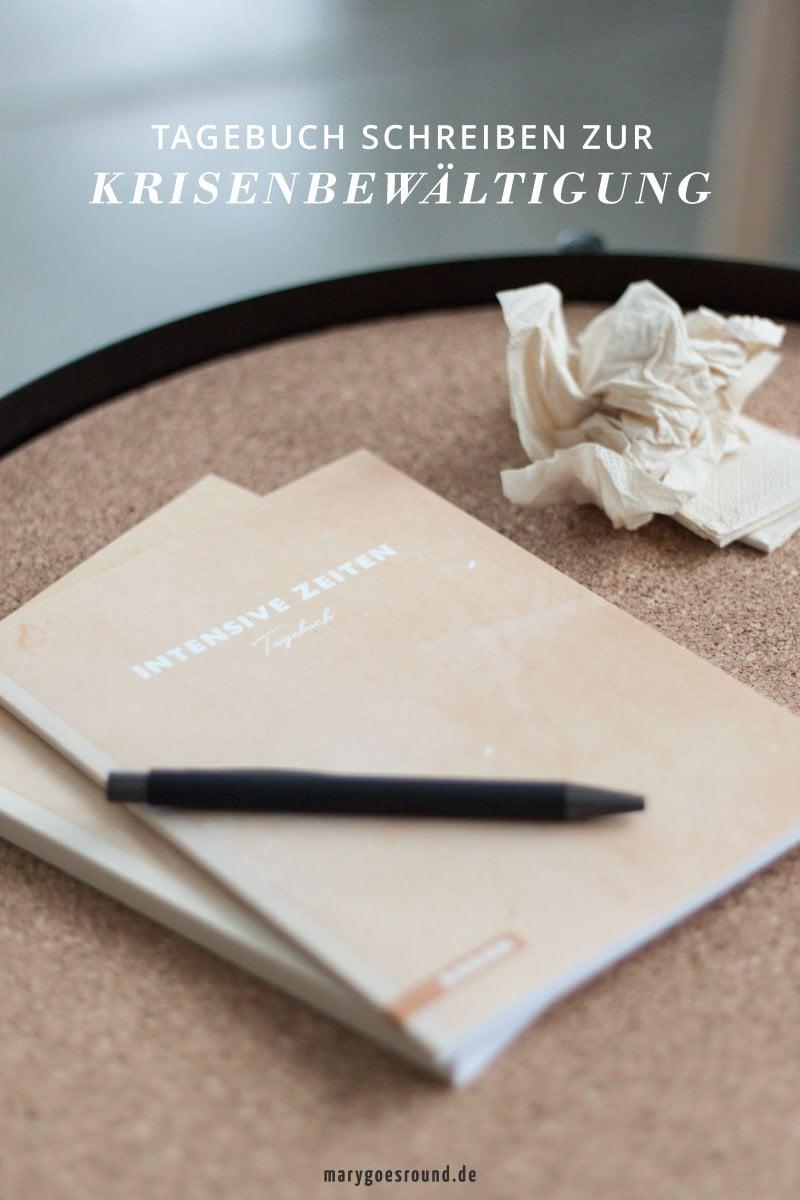 Wie das Schreiben bei der Krisenbewältigung hilft: Tagebuch für INTENSIVE ZEITEN