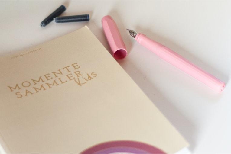 Füller mit ergonomischem Griff für Kinder zum Tagebuch schreiben