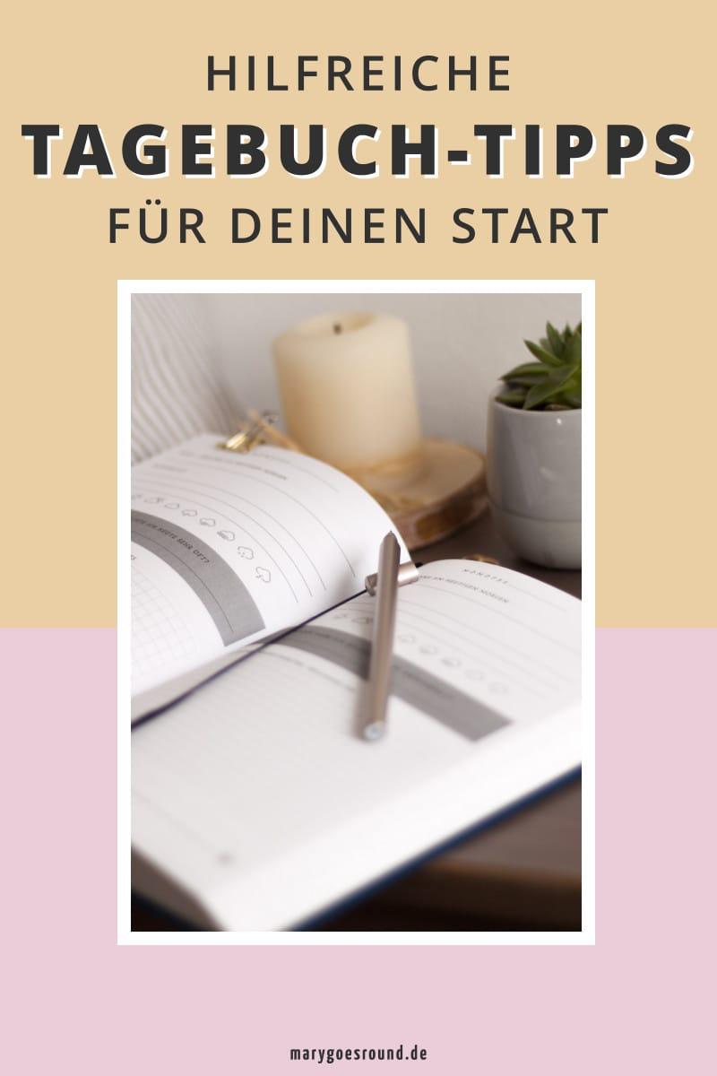 Hilfreiche Tipps für den Start zum Tagebuch schreiben | marygoesround.de