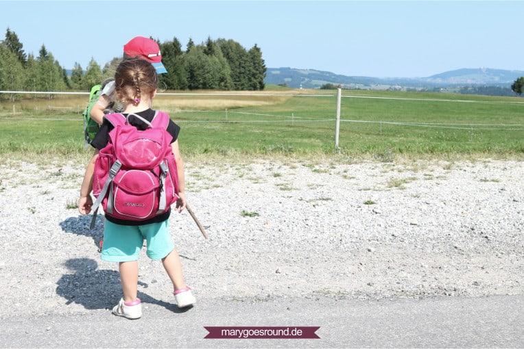 Wandern mit Kindern: Startklar nach der Anreise | marygoesround.de