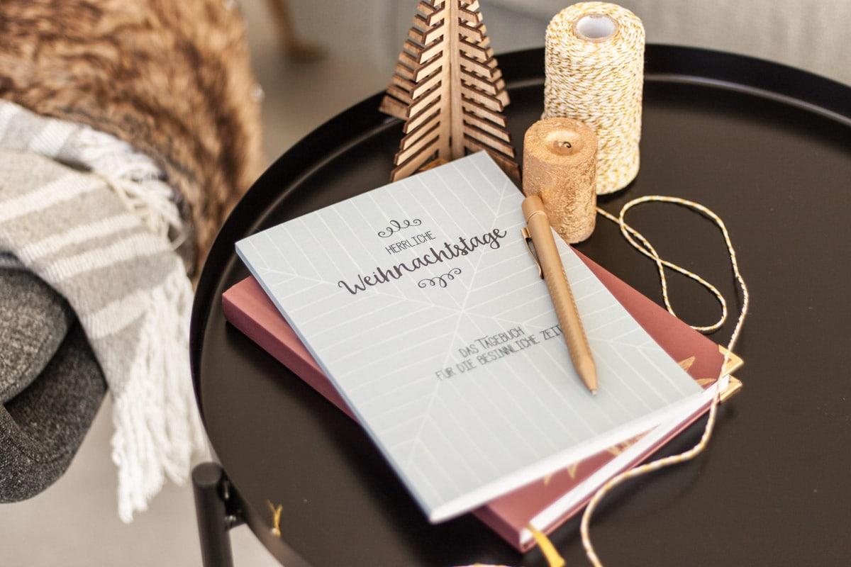 Alternative zum Adventskalender: Weihnachtstagebuch | marygoesround®