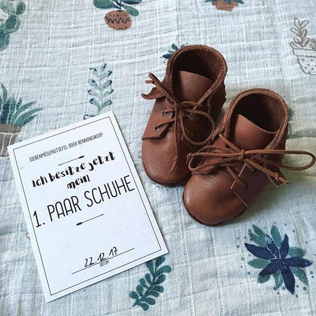 Baby-Meilensteinkarten bei @autumn_86 auf Instagram