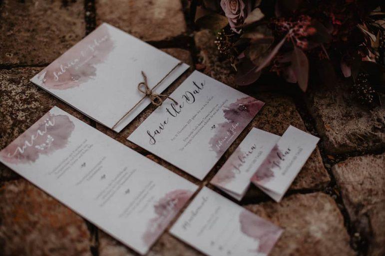 Hochzeitspapeterie Kollektion ZARTE LIEBE | marygoesround.de
